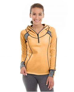 Cassia Funnel Sweatshirt-L-Orange